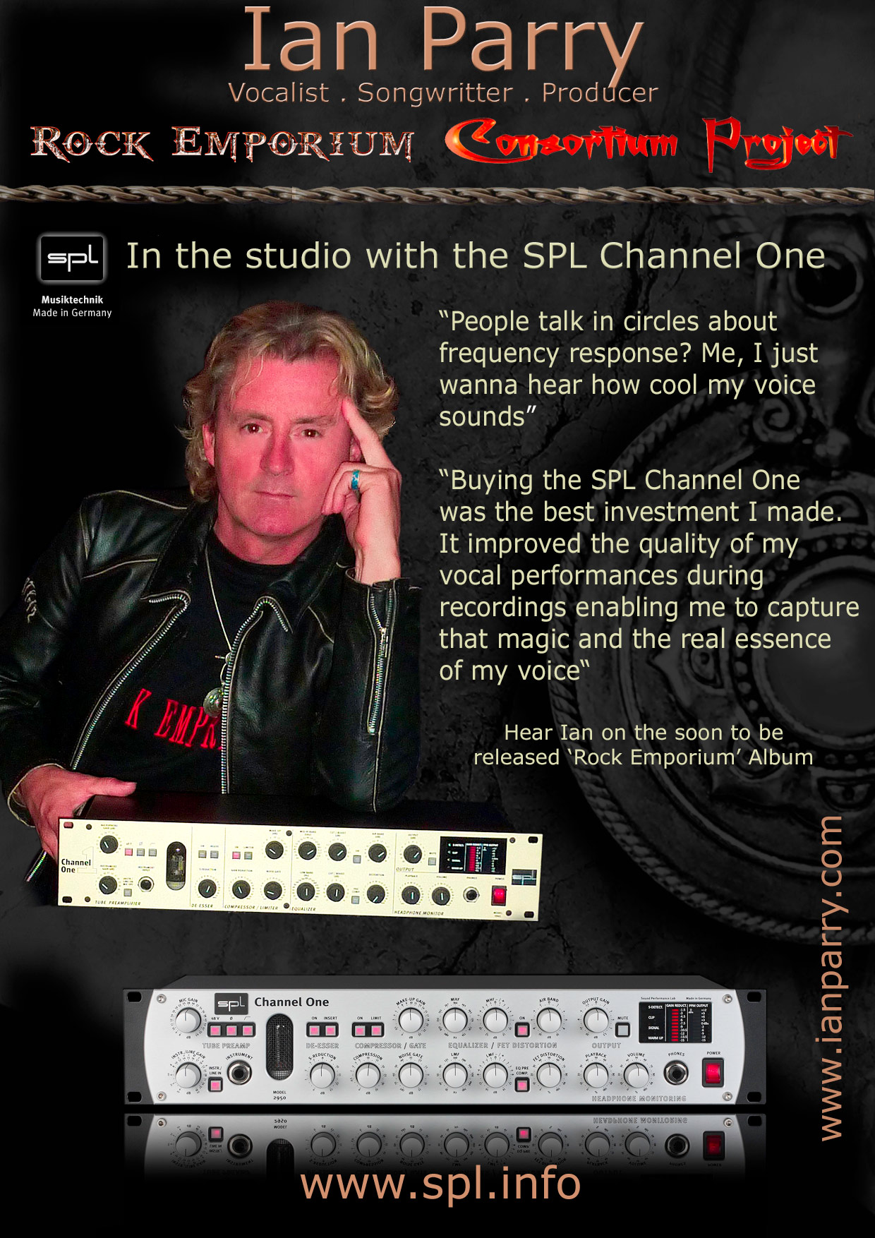 Non-Stop Music Productions (NSMP) uses SPL preamps